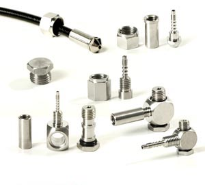 Self-assembly swageable fittings